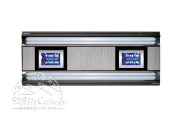 Giesemann AURORA Hybrid 1200mm irridium metallic Leuchte