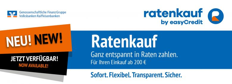 Teaser Easy Credit Ratenkauf