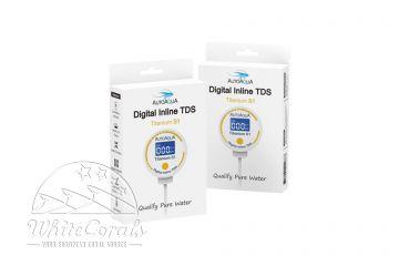 AutoAqua Digital Inline TDS Messgerät - Titanium S1