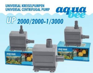 Aquabee-Centrifugal Pump UP2000 l/h - 15 Watt / hmax 1,6 m