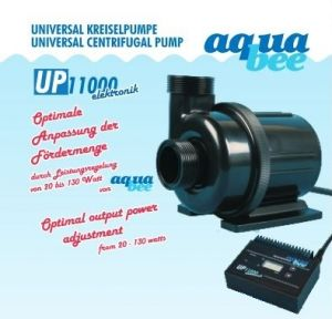 Aquabee-Centrifugal Pump UP11000 l/h 20-130 Watt / hmax 9 m - adjustable