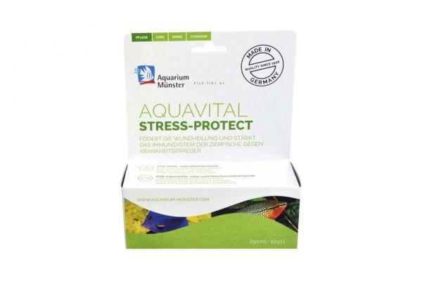 Aquarium Münster aquavital stress-protect 250 ml für 1250 l