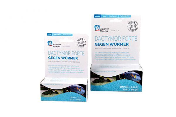Aquarium Münster Dactymor Forte gegen Würmer