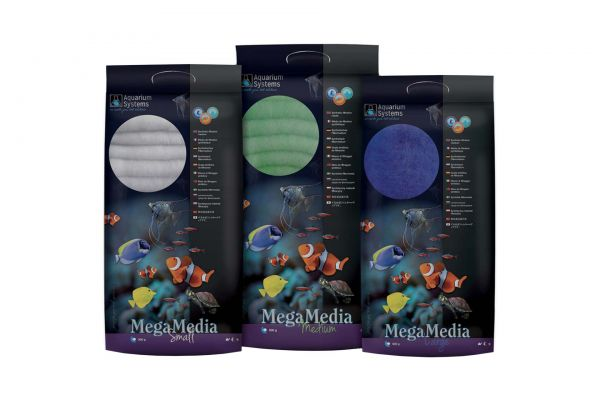 Aquarium Systems Mega Media Filterwatte 500g