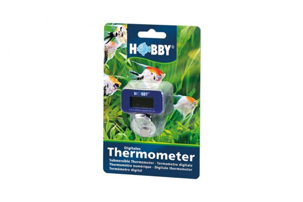 HOBBY Digital Submersible Thermometer, incl. battery