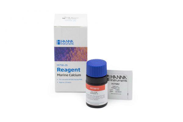 Hanna 25 Reagenzien für Checker Mini-Photometer Marine Calcium