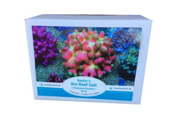 Korallenzucht Reefers Bio Reef Salt 20 Kg Meersalz