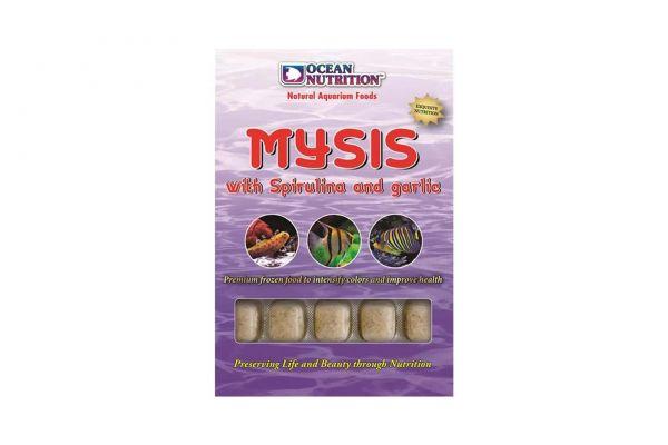 Ocean Nutrition Frozen Mysis with Spirulina & Garlic 100 g Frostfutter