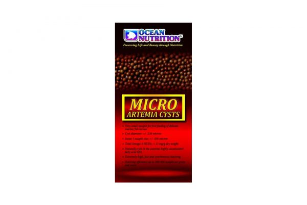 Ocean Nutrition Micro Artemia Cysts 430 - 25 gr
