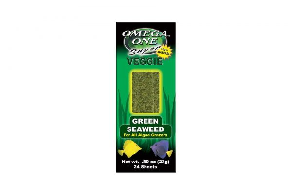 Omega One Super Veggie Seaweed Algenbätter Grün 23 gr