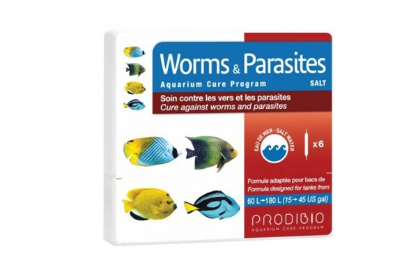 Prodibio Worms & Parasites Salt 6 Amp.