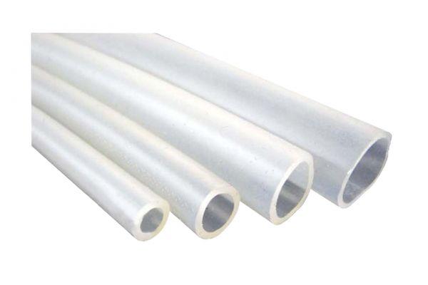 Silikonschlauch transparent 20cm zum Entkoppeln von Pumpen