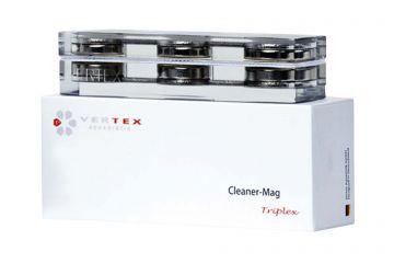 Vertex CleanerMag Triplex, Glasreiniger bis 12mm Glas