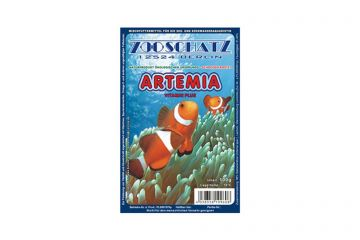 Zooschatz Artemia mit Vitaminen 100g Blisterpackung