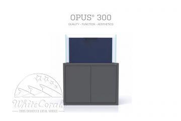 Nyos Opus 300 Aquarium basaltgrau
