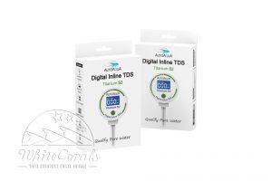 AutoAqua Digital Inline TDS Messgerät - Titanium S2