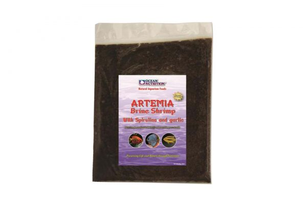 Ocean Nutrition Frozen Artemia with Spirulina & Garlic 454 g Frostfutter