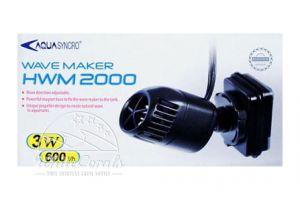 Resun Wave Maker 2000 Strömungspumpe 3 W/230 V / 600 l/h - für Aquarien bis ca. 60 Liter