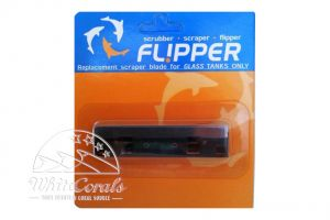 Flipper Replacement Blade Stainless Steel Nano for Glass Aquariums
