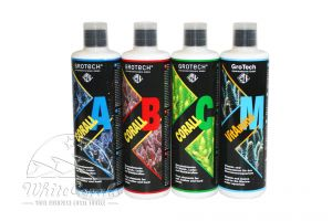 GroTech Corall A,B,C&M Set 500 ml trace elements