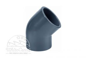 PVC 16mm Ellbow 45°