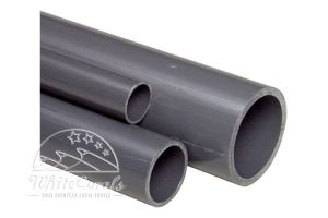 PVC 20mm Pipe 1Meter grey