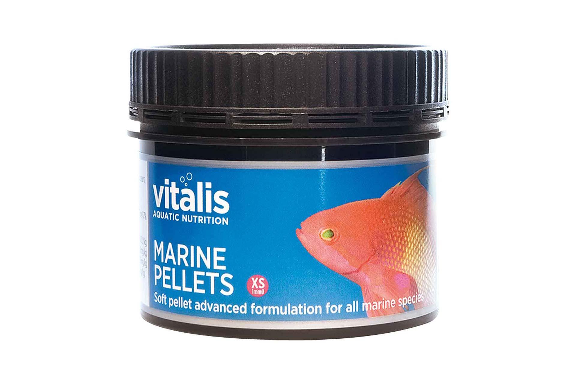 New Era/Vitalis Marine Pellets XS/1mm 60g fish food