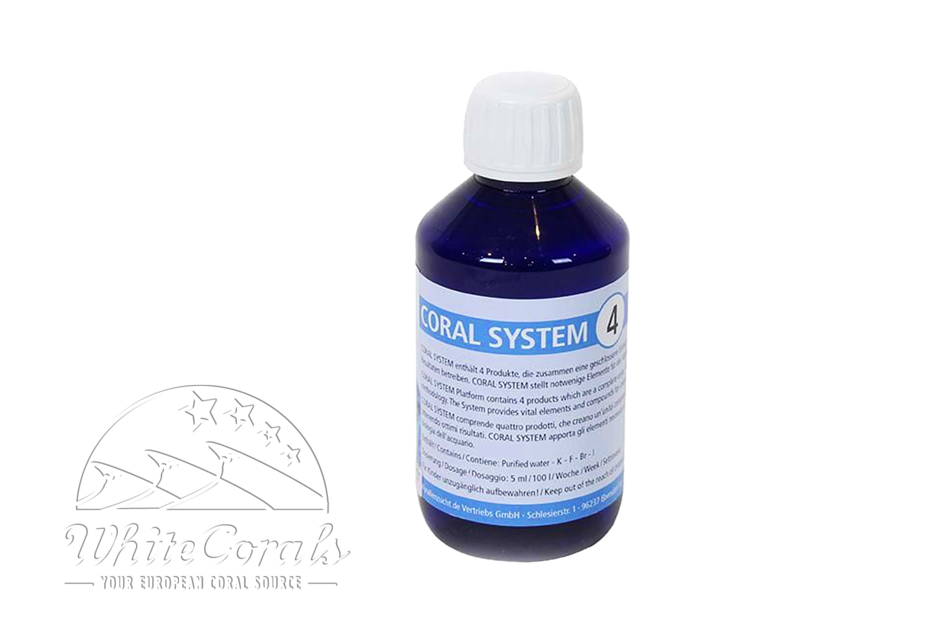 Korallenzucht Coral System - Coloring Agent 4 500 ml