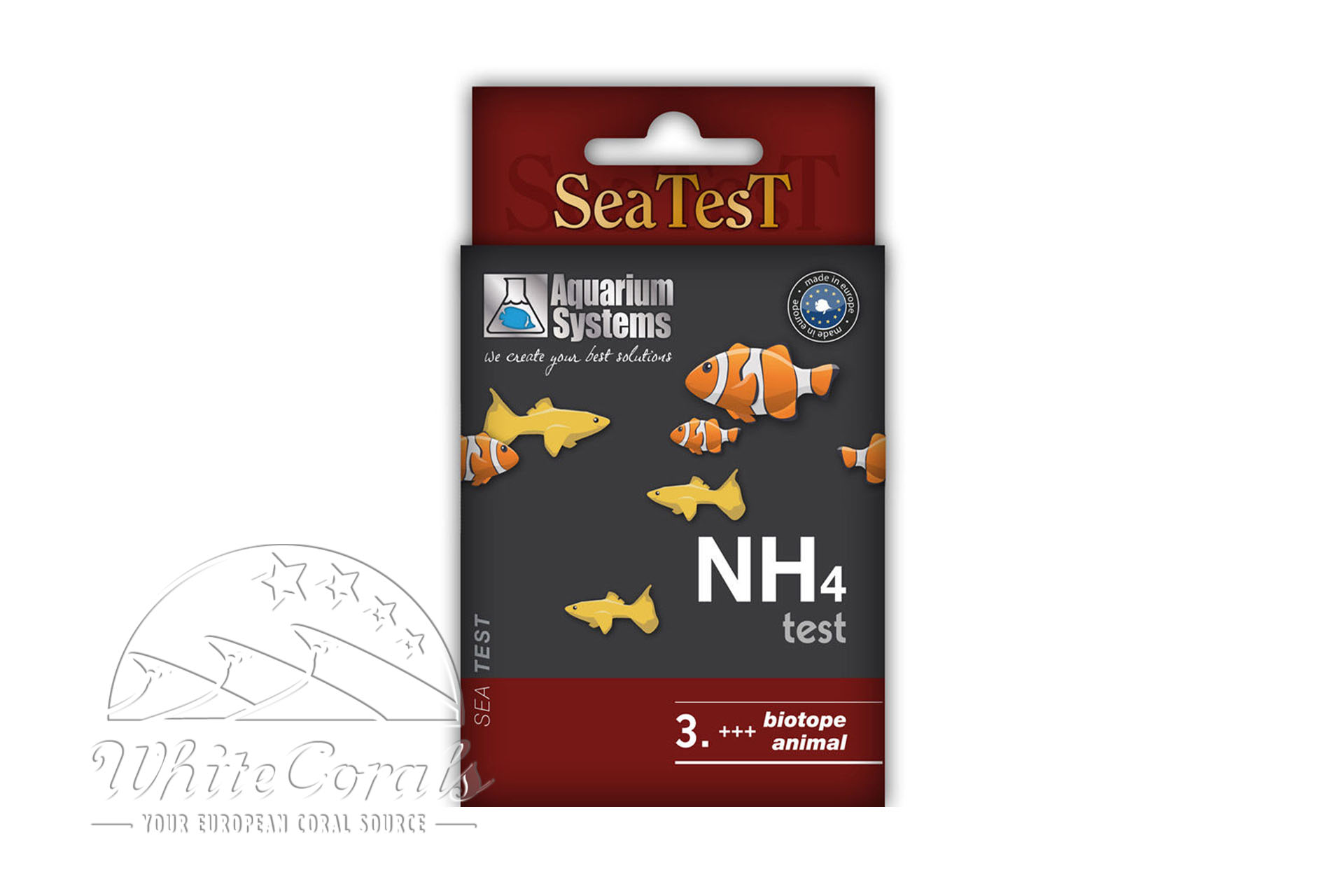 Aquarium Systems Reef Evolution Wassertest Ammoniak