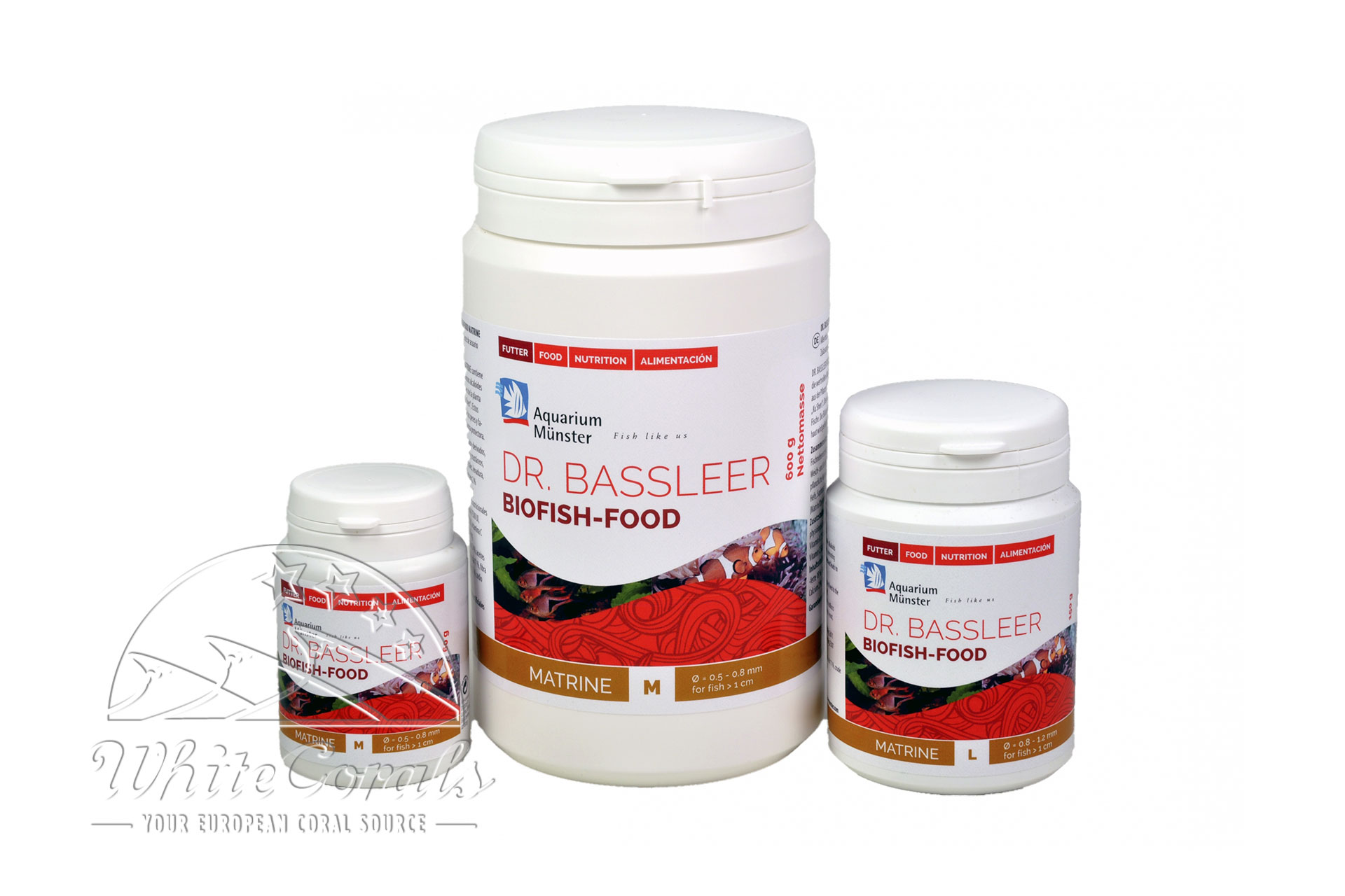 Aquarium Münster Dr. Bassleer Biofish Food Matrine M 60 g