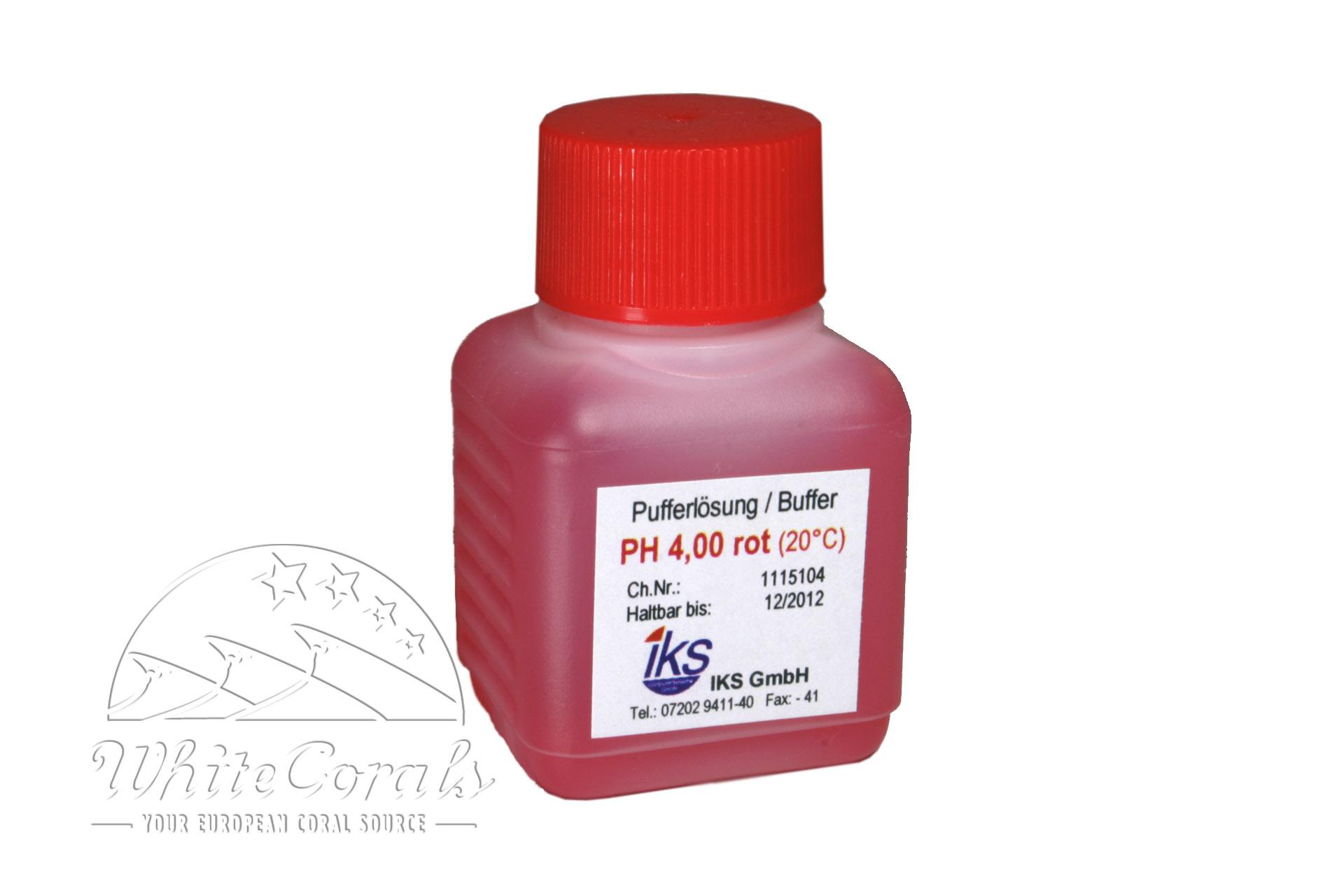 iks Kalibrierlösung pH 4,0