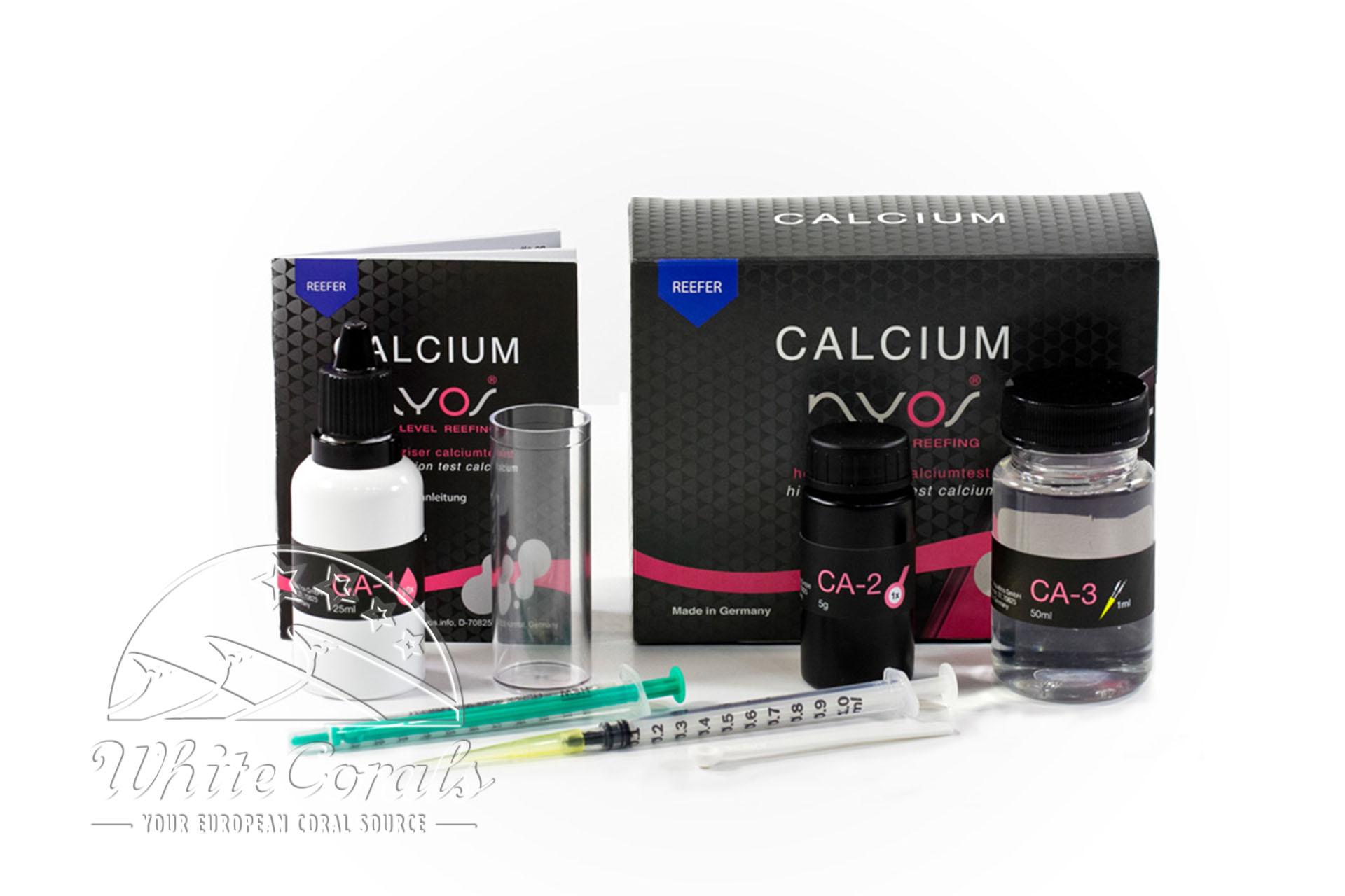 Nyos Testkit Calcium Reefer water test