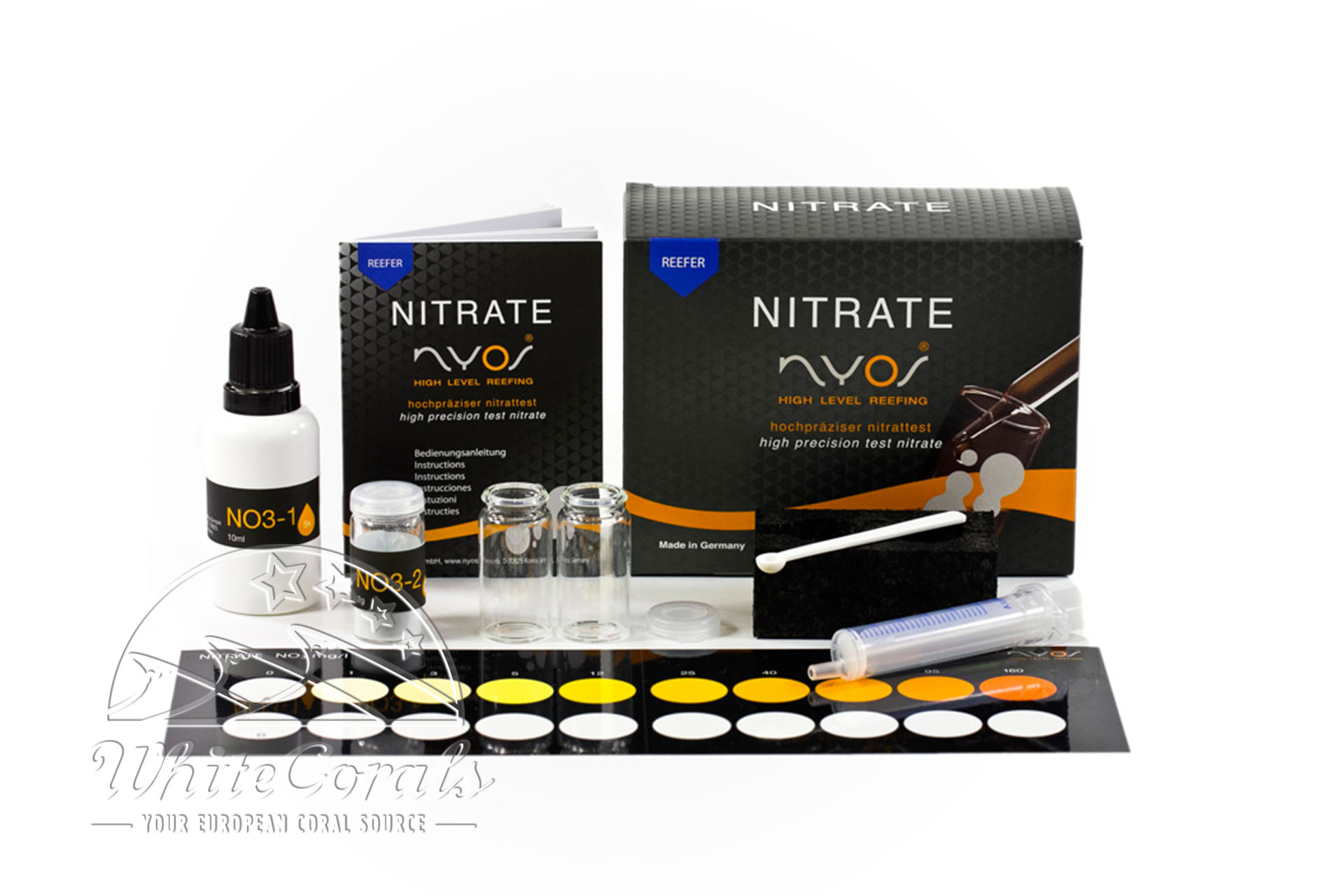 Nyos Testkit Nitrate Reefer water test