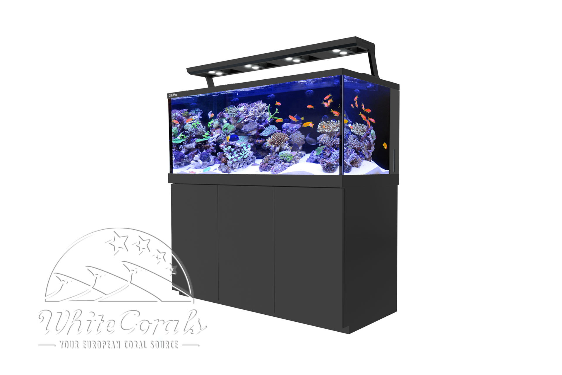 Red Sea Max S-650 LED Complete Reef System schwarz