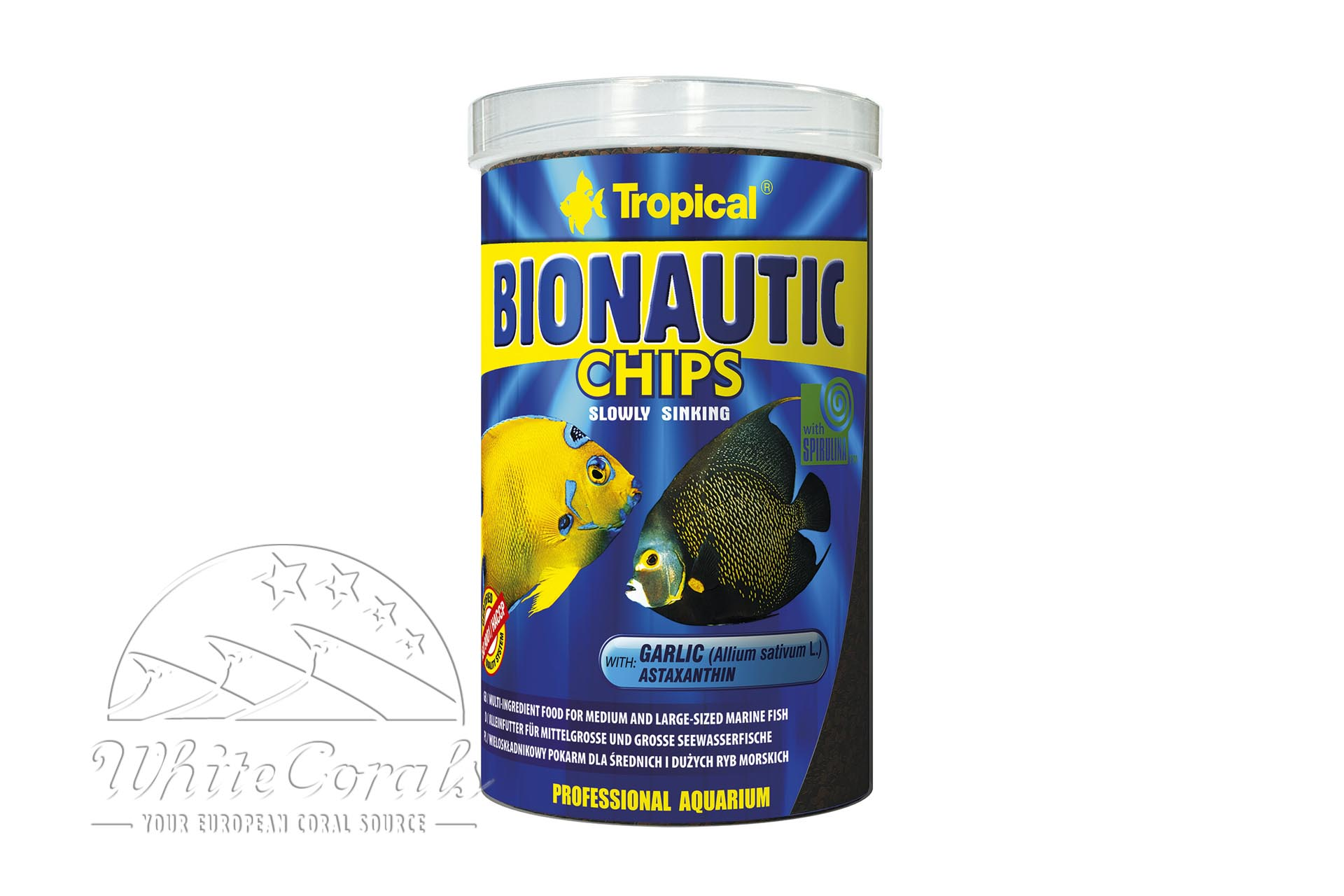 Tropical Bionautic Chips 1000ml/520g Fischfutter