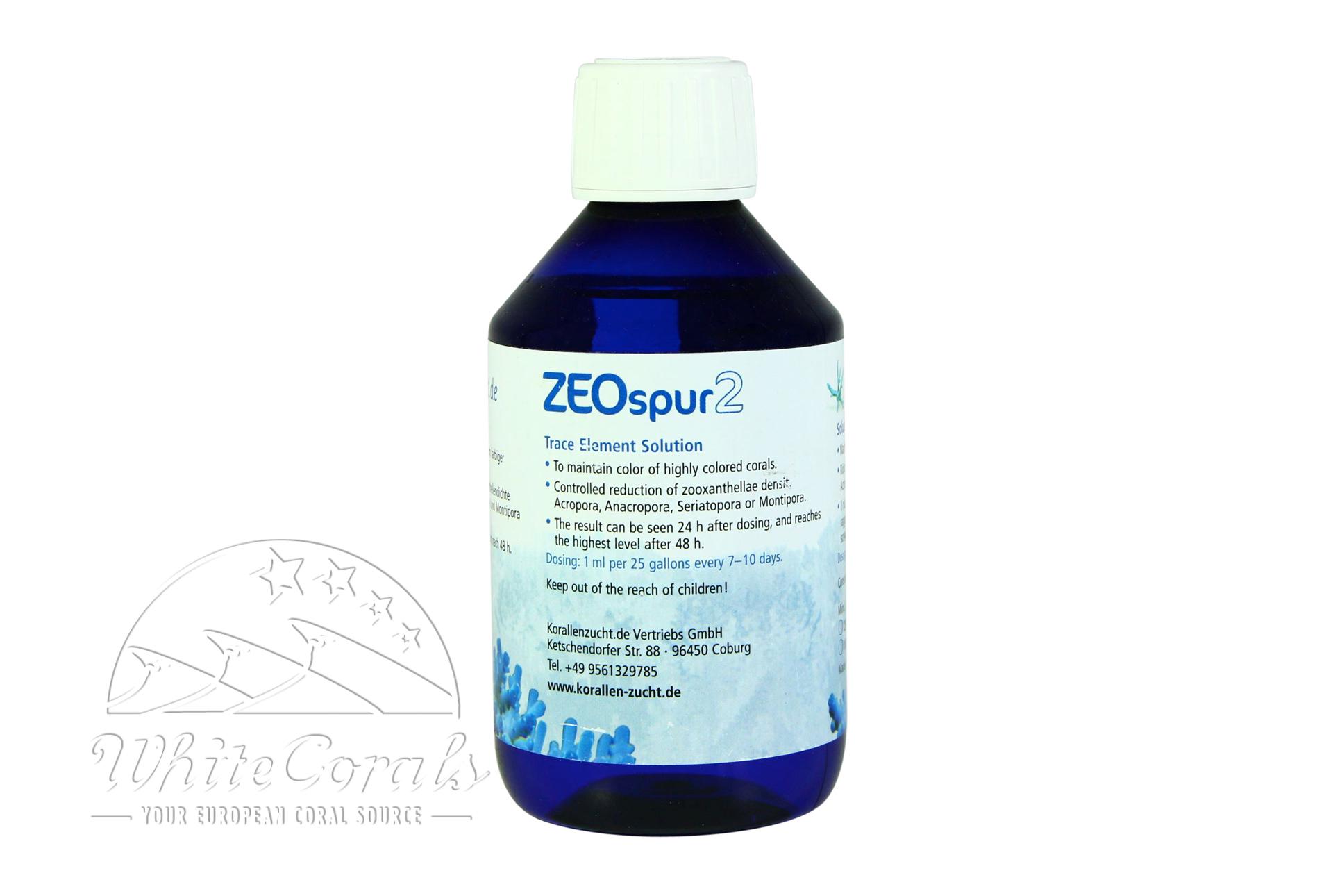 Korallenzucht ZEOspur 2 Konzentrat